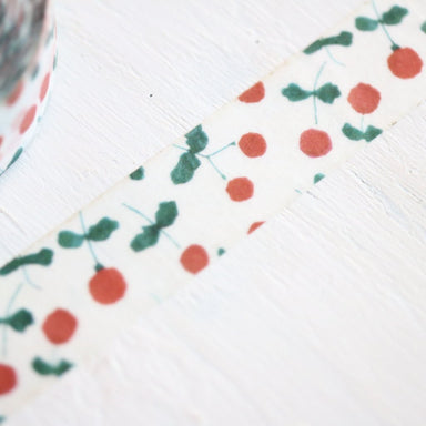 Seitousha Washi Tape - Wild Berry