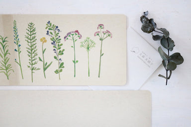 Note Card - Pressed Flower