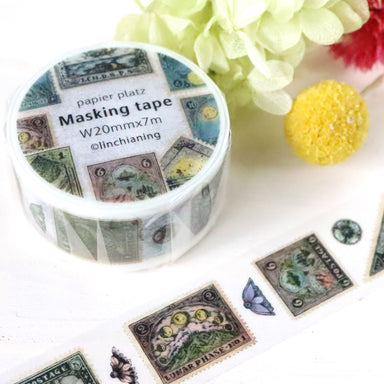 Washi Tape - Antique Stamp