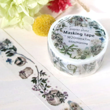 Washi Tape - Vintage Flower