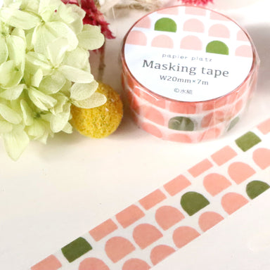 Washi Tape - Pink Pattern
