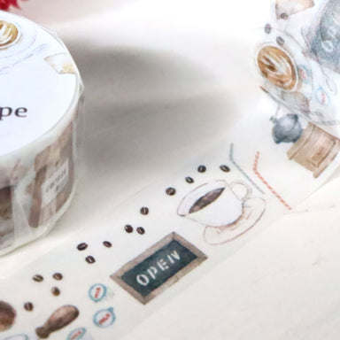 Washi Tape - Coffee