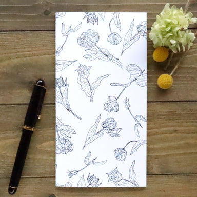 Slim Notebook - Botanical