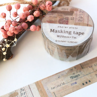 Sunny Sunday Washi Tape - Papiers