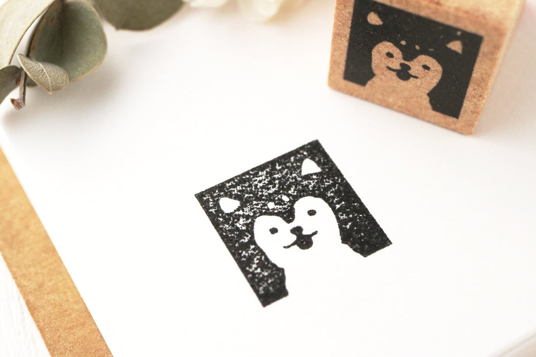 Limited Edition Seitousha Rubber Stamp - Dog
