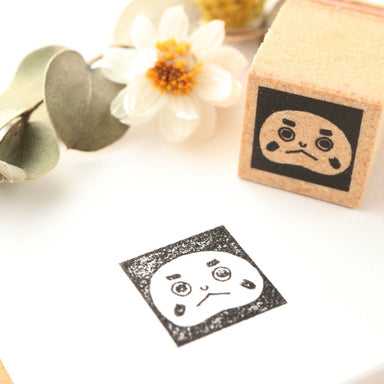 Limited Edition Seitousha Rubber Stamp - Daruma