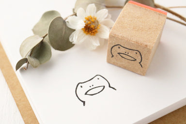 Limited Edition Seitousha Rubber Stamp - Frog