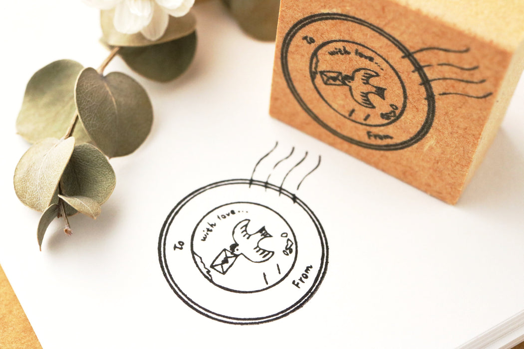 Rubber Stamp - Post Mark