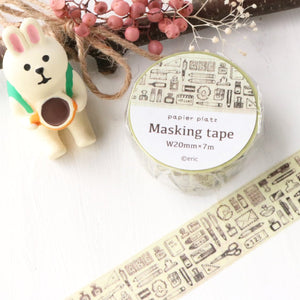 Eric Washi Tape - Stationery Rough