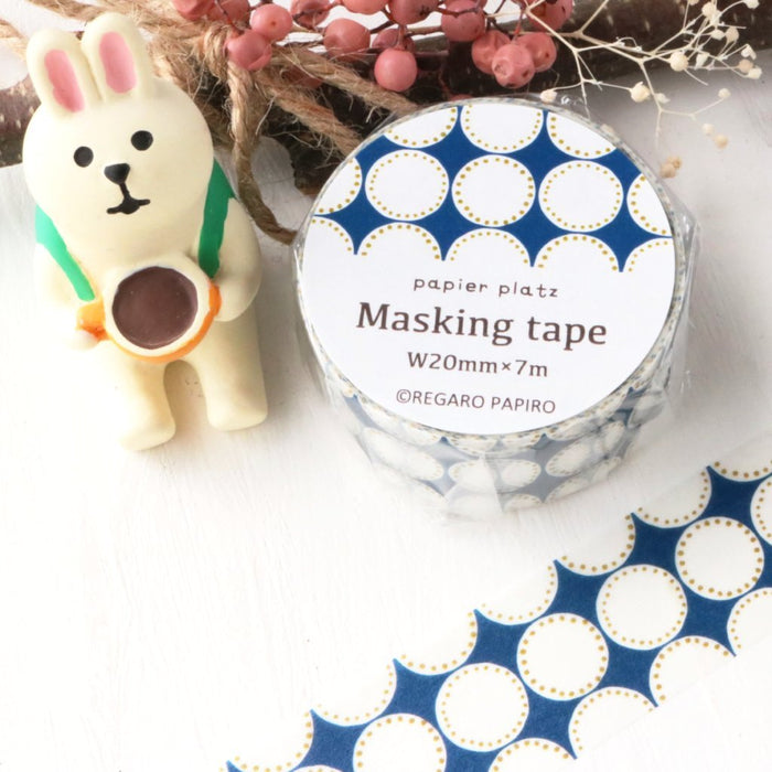 Washi Tape - Dot Blue
