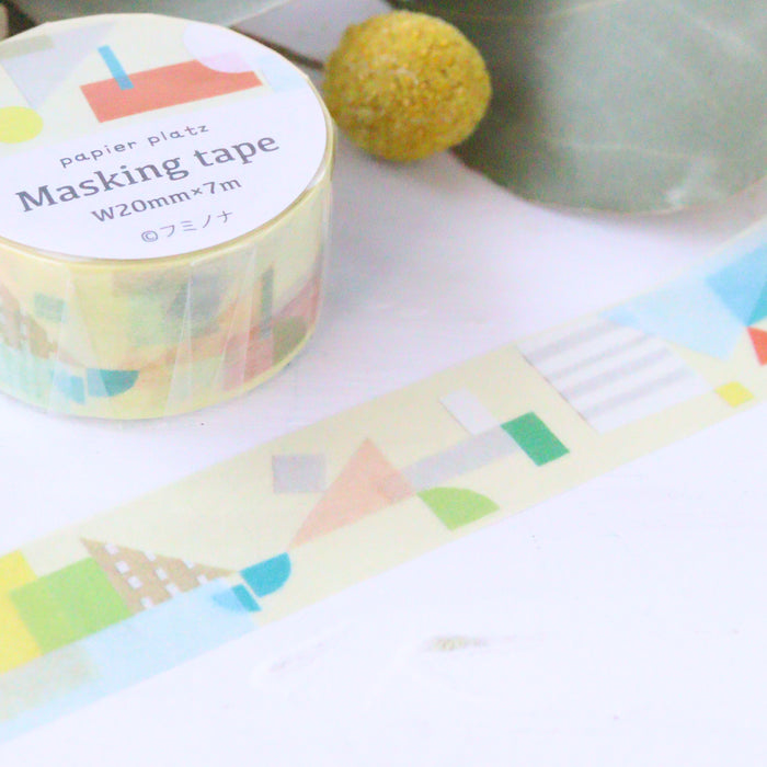 Washi Tape - Yellow Pieces