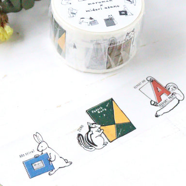 100th Anniversary Limited Edition Washi Tape - Notebooks