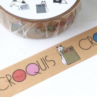 100th Anniversary Limited Edition Washi Tape - Croquis