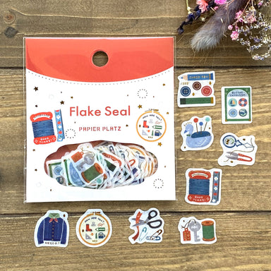 Flake Stickers - Sewing
