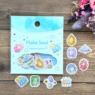 Flake Stickers - Jewelry