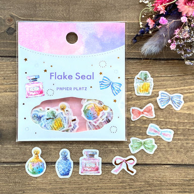 Flake Stickers - Perfume