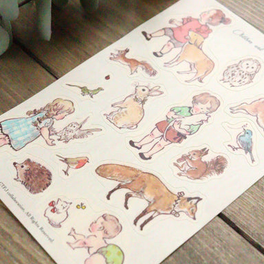 Stickers - Children and Animals
