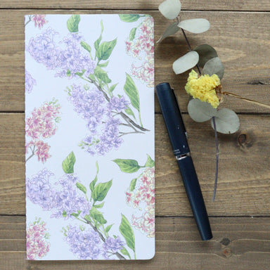 Slim Notebook - Lilac