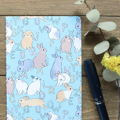 Slim Notebook - Bunny