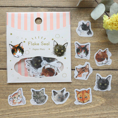 Flake Stickers - Cats