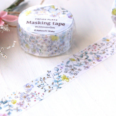 Washi Tape - Pale Flower
