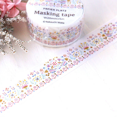 Washi Tape - Embroidery
