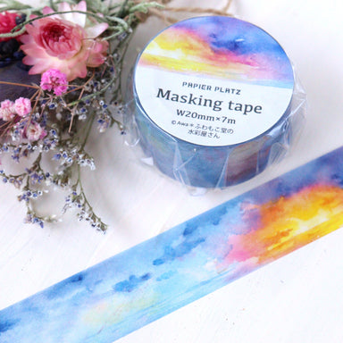 Washi Tape - From the Morning to Night