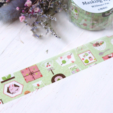 Washi Tape - Japanese Sweets