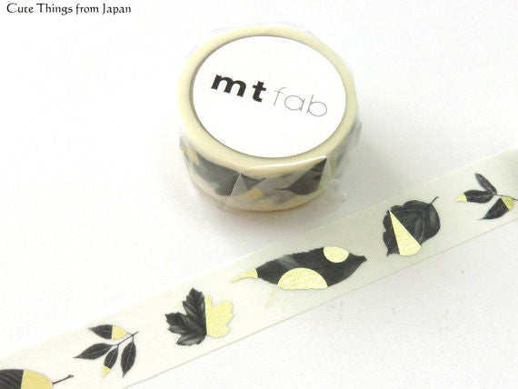 mt fab Washi Tape - Leaf MTHK1P07