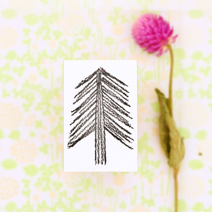 Rubber Stamp - Needled Tree
