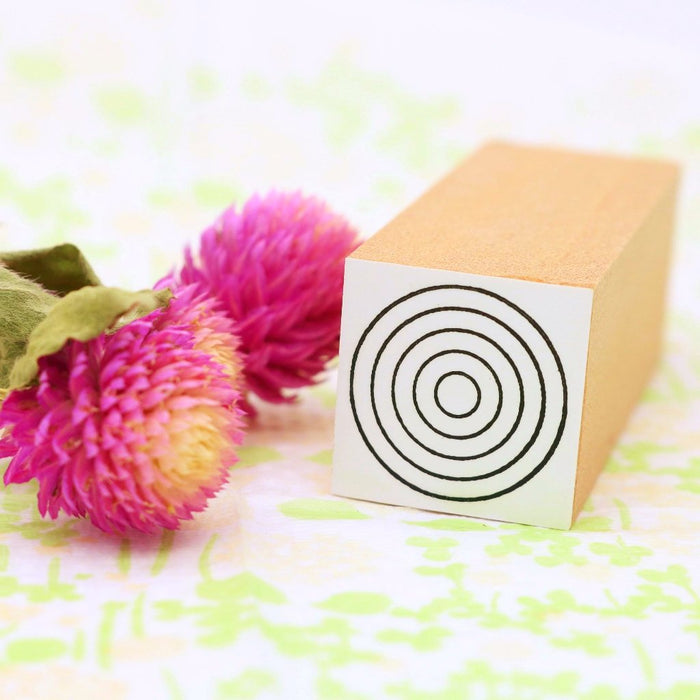 Rubber Stamp - Circle S