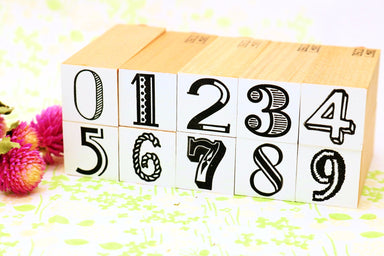 Rubber Stamp - Numbers