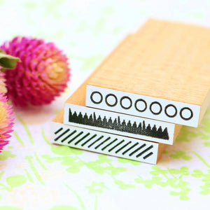 OSCOLABO Rubber Stamps - Set A