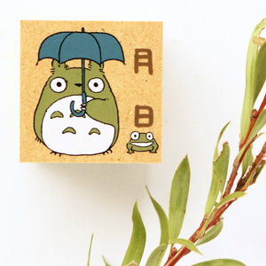 Totoro Rubber Stamp - Date