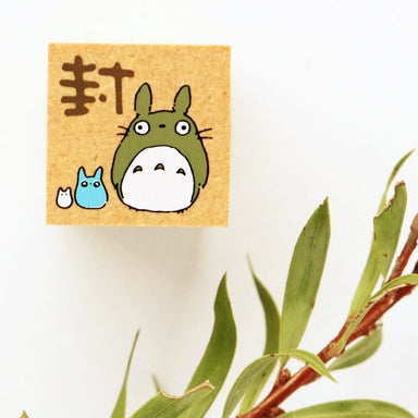 Totoro Rubber Stamp - Seal