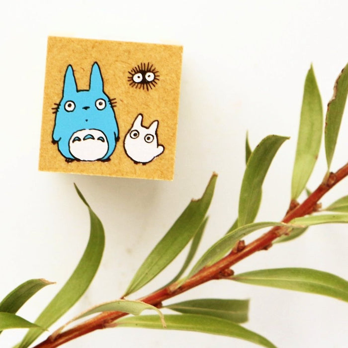 Totoro Rubber Stamp - Friends