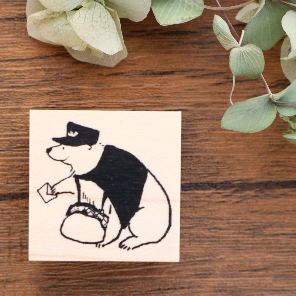 momoro Rubber Stamp - Mr. Postman