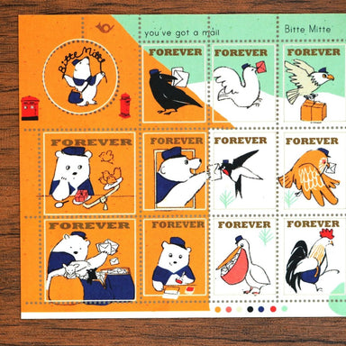 momoro Stickers - Mr Postman