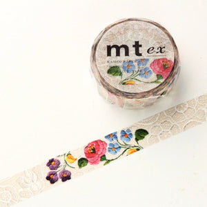 mt Washi Tape - Flowers MTEX1P105