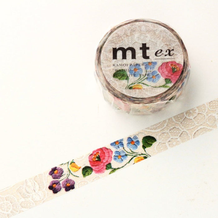 Flowers Washi Tape, MTEX1P105