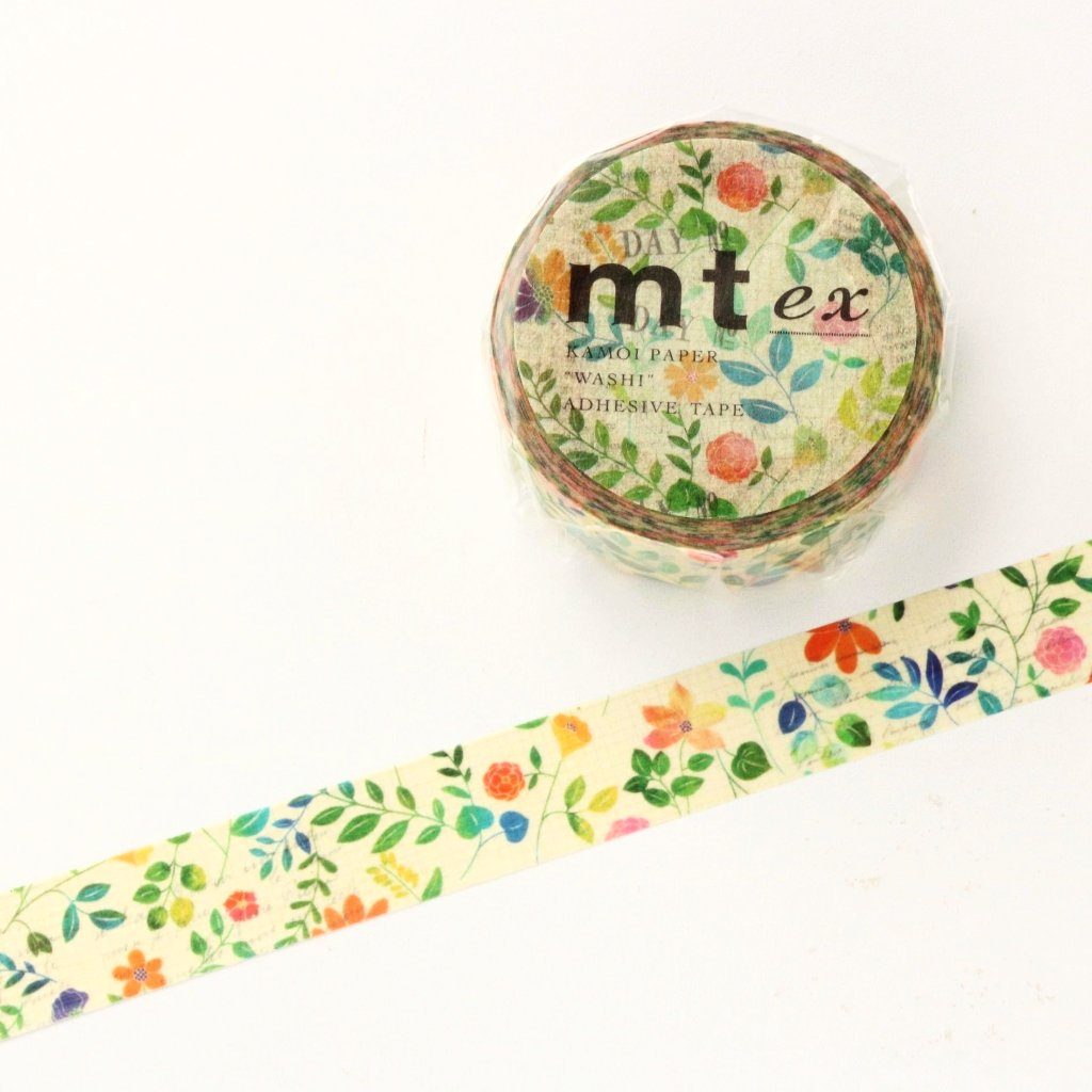 mt Washi Tape - Flowers MTEX1P109