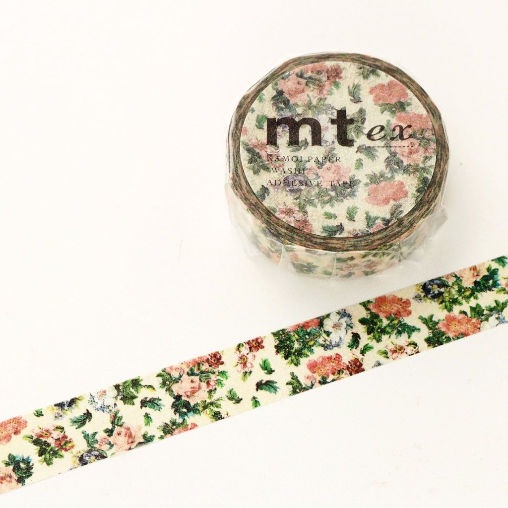 mt Washi Tape - Flowers MTEX1P103
