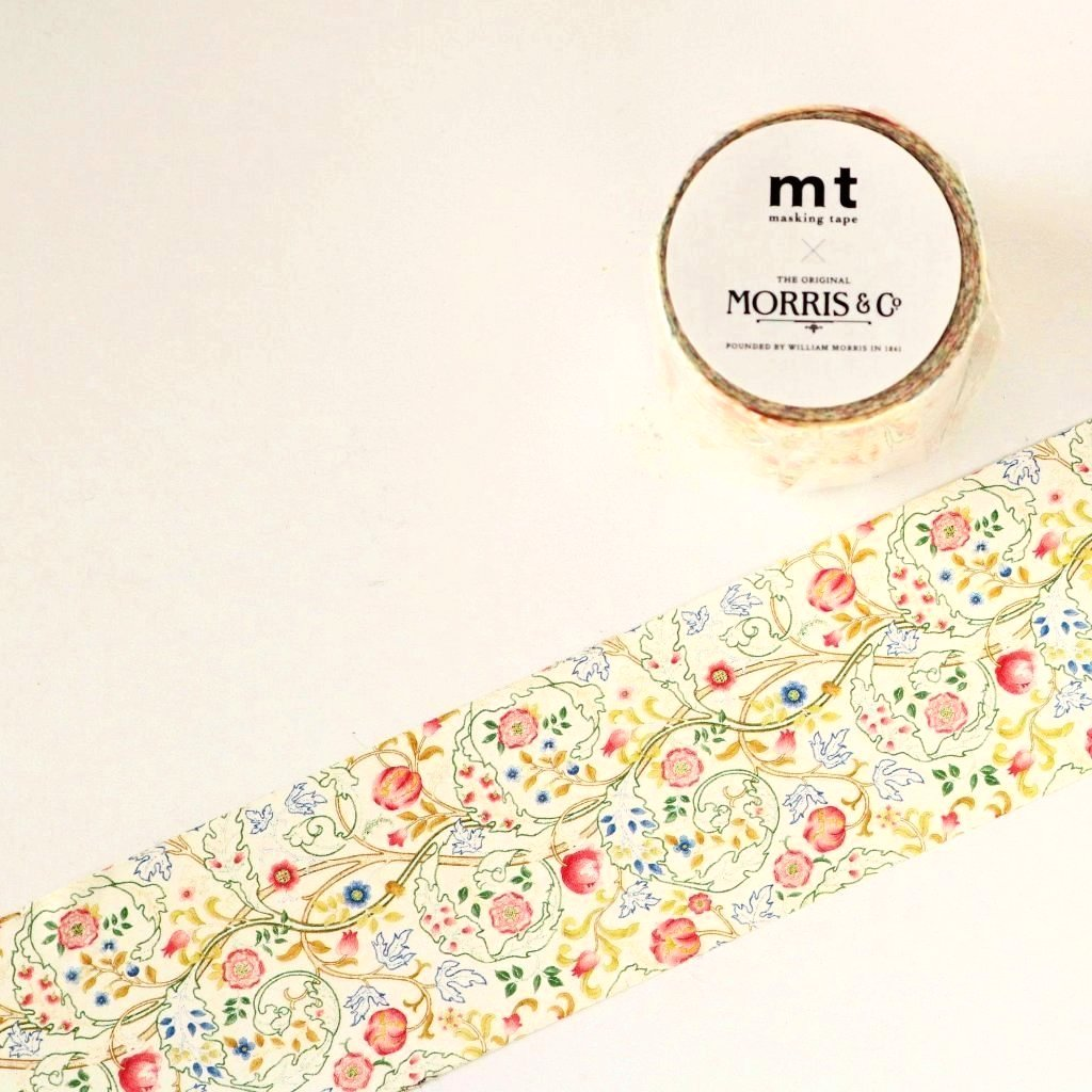mt x William Morris Washi Tape - Mary Isobel MTWILL06