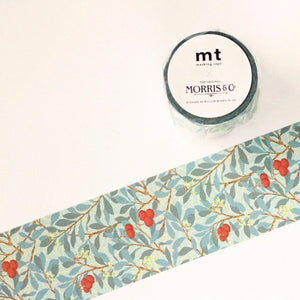 mt x William Morris Washi Tape - Arbutus MTWILL07