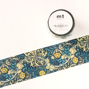 mt x William Morris Washi Tape - Seaweed MTWILL10