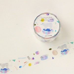 Aiko Fukawa Washi Tape - Polar Bear