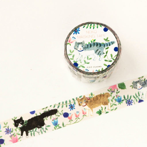 Aiko Fukawa Washi Tape - Cat