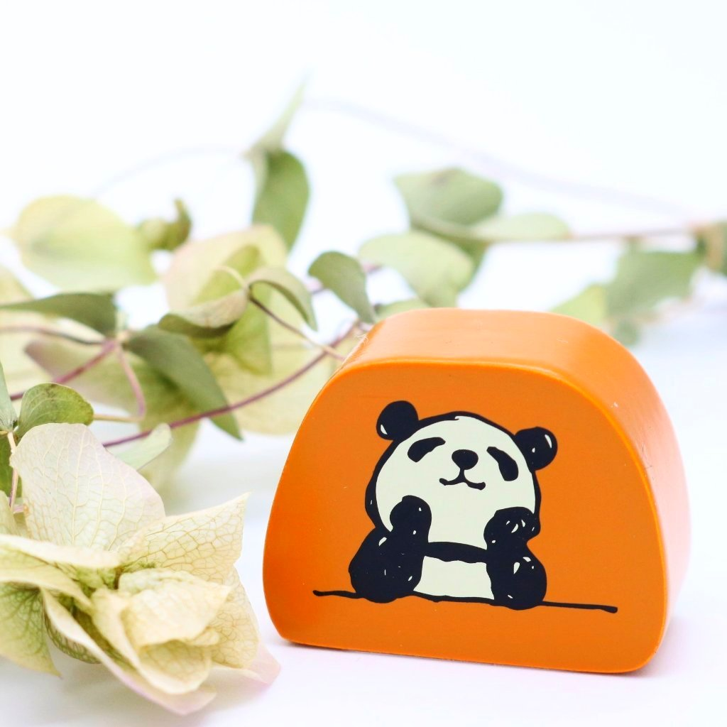 Panda Rubber Stamp - Dream