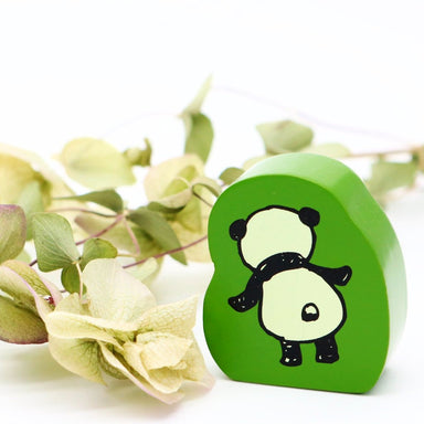 Panda Rubber Stamp - Curious
