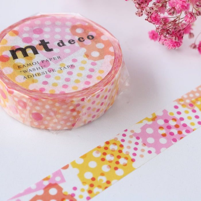 Washi Tape - Dot Pink